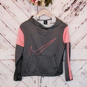 Nike Dri Fit Pullover Sweatshirt Hood XL G…